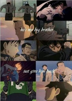 Roy Mustang and Maes Hughes Gawd damn it ;_;