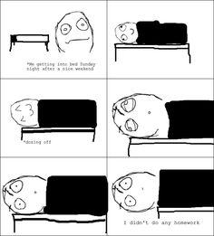 Literally happens every week...
