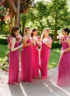 red bridesmaid dresses for wedding