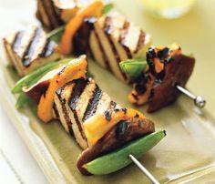 #MeatlessMonday: Thai Citrus Tofu Kebabs #SelfMagazine