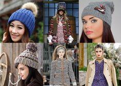 Модные вязаные шапки 2018 года - http://god-2018s.com/moda/modnye-vyazanye-shapki-2018-goda