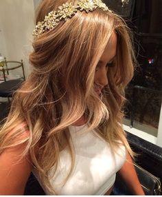 bronde balayage hair