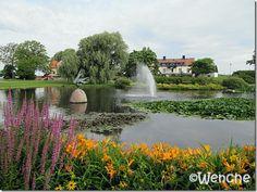Almedalen park, Visby - Gotland, Sweden