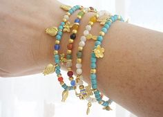 Friendship charm bracelets