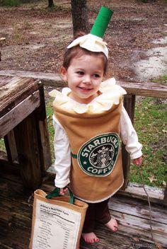 Starbucks costume starbucks autumn halloween kids fashion children's fashion photography costumes kids costume ideas