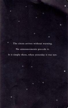 The Night Circus.