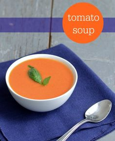 Homemade tomato soup | Real Food Real Deals
