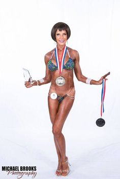 My personal best physique to date.  I placed 1st in Masters Bikini and 4th in Open Bikini.