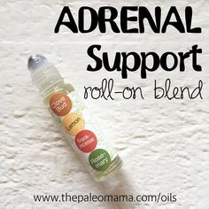 Adrenal Support HOW TO MAKE: In a 10ml roll-on bottle add: 9 drops of Clove, 12 drops of lemon, 9 drops of Frankincense, and 21 drops of rosemary. Top with fractionated coconut oil. Apply over kidneys (on both sides of back just below the rib cage), follow with a warm, damp washcloth as a compress.