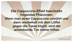 Weitere Infos dazu: http://www.unnuetzes.com/wissen/7602/cappuccino-effekt/