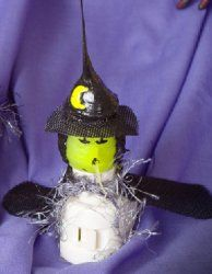 Witch Nightlight $20.00. Inner Bulb Is Replaceable. Item# 01-3000 ($2.00)