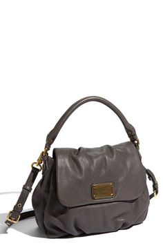 """Grey is one of my favorite colors for clothing and accessories.  This Marc by Marc Jacobs """"Classic Q - Little Ukita"""" Convertible Crossbody Bag is great! $428.00 at Nordstrom."""