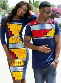 The most trendy and beautiful ankara styles and designs outfit for couples compilation. These ankara designs for couples were particularly selected for you and your partner. African Wedding Attire, African Attire, African Wear, African Women, African Shirts, African Print Dresses, African Fashion Dresses, African Dress, African Inspired Fashion