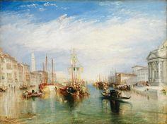 Joseph Mallord William Turner - Venice, from the Porch of Madonna della Salute [c.1835] | by Gandalf's Gallery