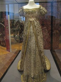 The wedding dress of the Empress Elizabeth of Austria aka as Sissi