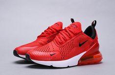 Nike Air Max 270 GS Habanero Red Habanero White Black Red 943345 600
