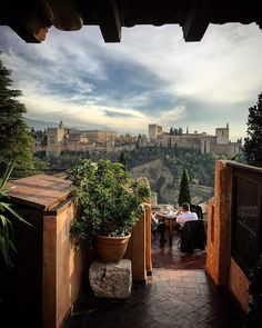 Alhambra castle in Granada, Andalusia (Spain) Granada Andalucia, Andalusia Spain, Granada Spain, Cordoba Spain, Beautiful Places In Spain, Fantasy Places, Spain And Portugal, Moorish, Seville