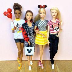 Dreaming of Disney World   #barbie #barbiedoll #barbiemadetomove…
