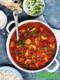Slow cooking allows the punchy flavours of this thick, New Orleans-inspired stew to develop and come together perfectly Healthy Food, Yummy Food, Healthy Recipes, Shrimp Gumbo, Chicken And Shrimp, Asda, Slow Cooker Recipes, Poultry, Stew