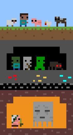 8-bit Minecraft