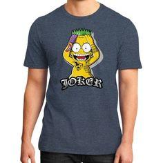 Bart Joker District T-Shirt (on man)