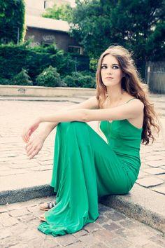 Carla Coulson portrait shoot paris