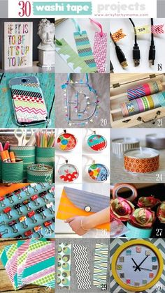 Diy washi tape projects, duct tape crafts, washi tape uses, washi t Washi Tape Uses, Duct Tape Crafts, Masking Tape, Washi Tapes, Duct Tape Projects, Tapas, Diy And Crafts Sewing, Diy Crafts, Craft Tutorials