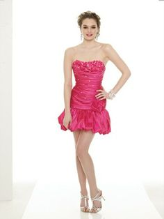 Sheath / Column Sweetheart  Hand-Made Flower Sleeveless Short / Mini  Taffeta Cocktail Dress / Homecoming Dress