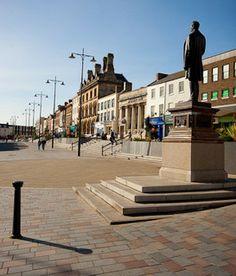 Darlington Town Centre by Darlington Borough Council, via Flickr
