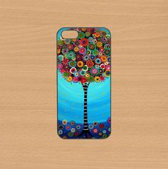 ipod 4 case,ipod 5 case,iphone 5 case,iphone 5s case,iphone 5c case,iphone 4 case,Blackberry z10,Blackberry q10--color tree,in plastic.by Doublestarstar, $14.99