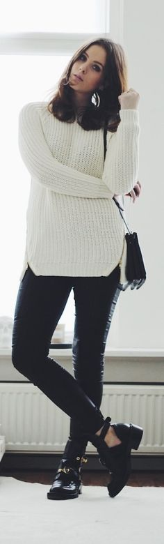 Zipper Knit n Outfit