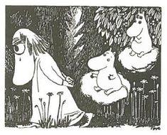 Muumittajan Muumi-blogi: maaliskuu 2013 Tove Jansson, Moomin, Troll, Finland, Doodles, Art Deco, Snoopy, Drawings, Fictional Characters