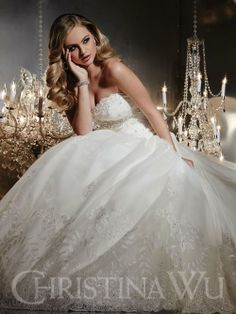 Beautiful, and found at Sisters Bridal Boutique Van Wert, OH