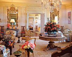 Stunning living room! Love the yellow walls!