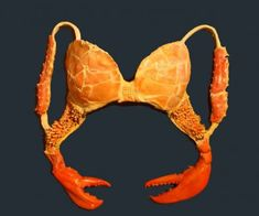 """In a series called """"Wallflowers"""", artist Laura Jacobs made a series of bras…"""