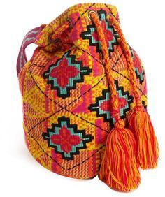 Love this: Duffle Bag in Aztec Diamond Weave @Lyst
