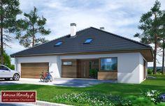 New House Plans, Modern House Design, Bungalow, Facade, Garage Doors, New Homes, How To Plan, Outdoor Decor, Home Decor