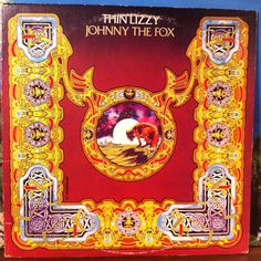 Thin Lizzy Johnny The Fox Vinyl Record LP 1976 Mercury Psych Hard Rock Heavy Metal Breaks by vintagebaronrecords on Etsy