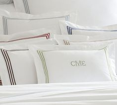 Grand Embroidered Boudoir Pillow Cover - Select Items | Pottery Barn