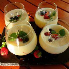Edel's Mat & Vin : Eggedosis med friske bær ღ
