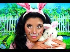 Cute Bunny Rabbit Costume Makeup!