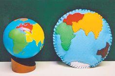 NAMC Montessori peace curriculum environmental awareness earth day activities pillow