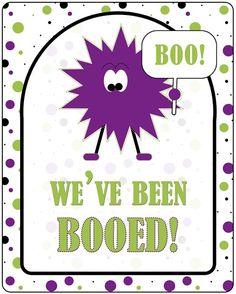 Whipperberry: {Printable} You've Been Booed