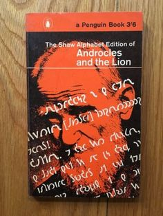 The Shaw Alphabet Edition of Androcles and the Lion - Shaw, Bernard Penguin, First impression of this Penguin paperback edition from 1962 with alphabet card in VG++ condition, please see pics, PayPal accepted, any questions please get in touch.