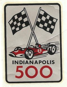 The Indy 500, very exciting racing