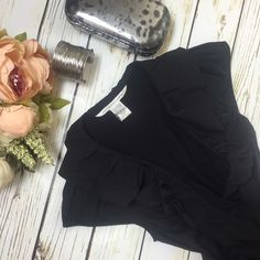 Diane Von Furstenberg Wrap Dress Black Black wrap dress, modest ruffle neckline, small cap sleeves. In great condition. Only worn once. 88% Polyamide, 12% Elastane. Dry clean only.  ❌ Trades  Authentic  ❌ PayPal  Discounts on Bundles  ✅ Offers Welcome   Yes to Questions Diane von Furstenberg Dresses Midi