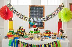 another great back to school table display