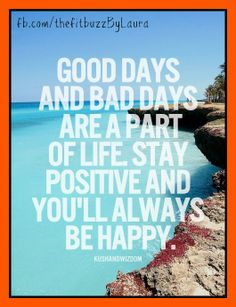 It's a fact of life, not all days, weeks, or even months are going to be great. Set yourself up for success by realizing that each struggle, each trial, and each hardship is only temporary. Set your sights on positive, uplifting things to get yourself through it and don't backslide - every minute that passes is another minute closer to a new beginning!    #motivate #inspire #positive #smile