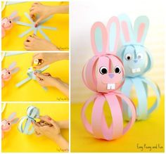 Easy Paper Bunny Craft – Easter Idea for Kids