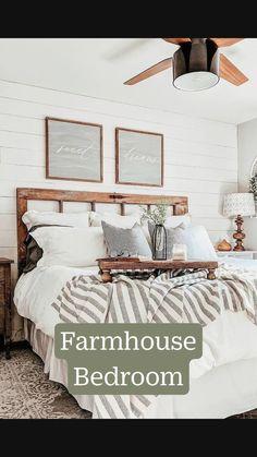 Room Ideas Bedroom, Small Room Bedroom, Home Decor Bedroom, Small Rooms, Antique Bedroom Decor, Master Bedroom Decorating Ideas, Cottage Style Bedrooms, Neutral Bedroom Decor, Neutral Bedding
